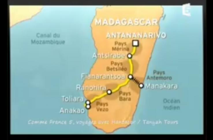 Vidéo de la RN7 à Madagascar